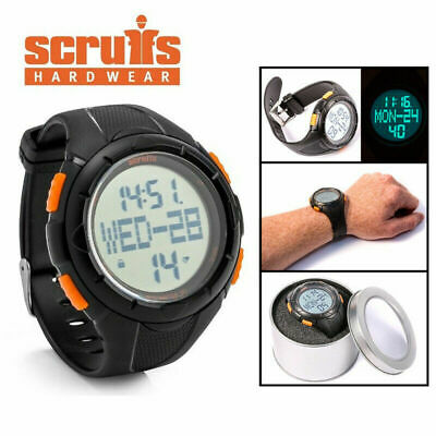 SCRUFFS Activity Tracker Work Watch Pedometer Step Counter Water Resistant