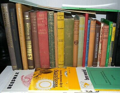 27 Beekeeping Interest Books - Collection/Joblot, Hardback & Paperback Booklets.