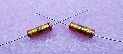 1 PC. ROE (Roederstein) high end audio axial electrolytic capacitor 220uF/25V