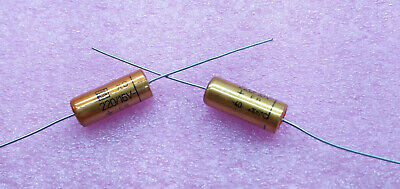 1 PC. ROE (Roederstein) high end audio axial electrolytic capacitor 220uF/16V