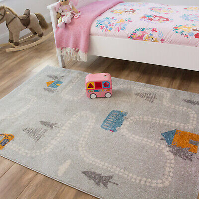 Grey Roads Country Bedroom Story Mats