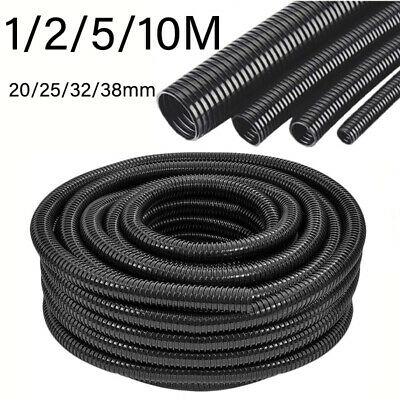 Flexible Hose Pipe 1/2/5/10M PVC Tube for Garden Pond Watering / Extracting Dust