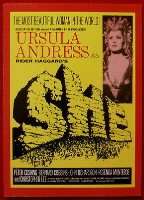 HAMMER HORROR - Series Two - Card 91 - Ursula Andress - SHE - Cornerstone 1996