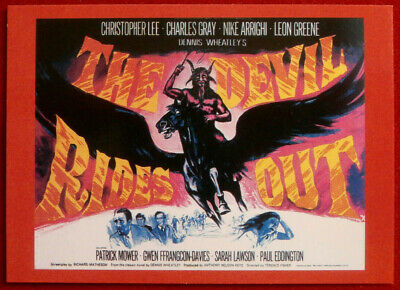 HAMMER HORROR - Series Two - Card 100 - The Devil Rides Out - Cornerstone 1996