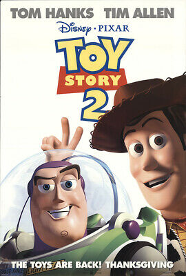 Toy Story 2 1999 27x41 Orig Movie Poster FFF-22108 Rolled Tom Hanks Disney