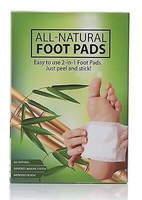EG Naturals Premium 2 in 1 Aromatic Foot Pads For Relaxation Detox &Better Sleep