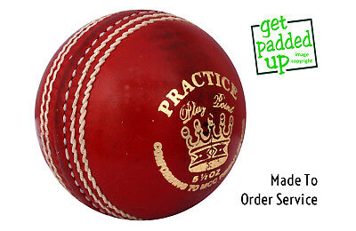 Made To Order Practice Cricket Balls : Clubs, Leagues, Schools : Bulk Buy