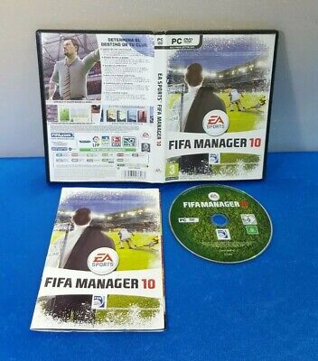 Fifa Manager 09 Pc Dvd Game Soccer Brand New