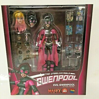 IN STOCK!! 2019 MAFEX No.083 EVIL GWENPOOL Medicom Toy NEW MISB - US SELLER