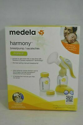 Medela Harmony Manual Portable 2 Phase Expression Breast Pump Dmg Box