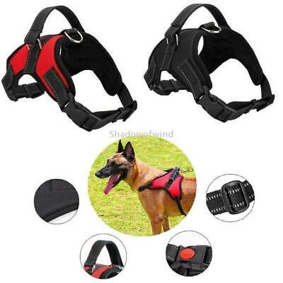 Dog Harness XL Heavy Duty Comfort Pet Vest No Pull Adjustable Reflective