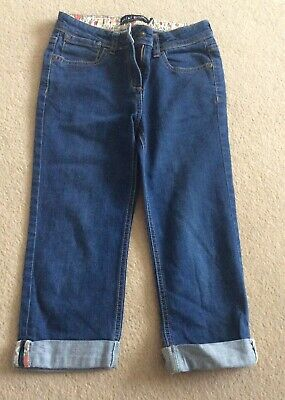 Mini Boden Girls Cropped Jeans- 10 years (9-10)