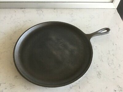 """Lodge Cast Iron 10 1/2"""" Skillet Griddle  Made In USA  Pan # 90G"""