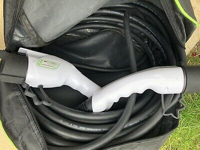 EV / Electric Car - Charging Cable | 10m | 32Amp | Type 1 to Type 2 |
