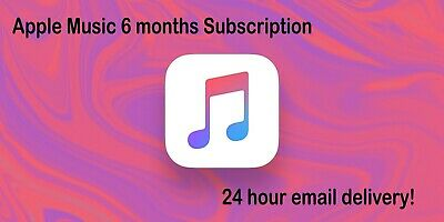 Apple Music 6 Month Subscription Service Your own Apple ID ll # spotify premium