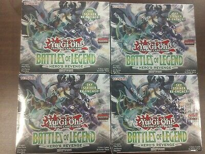 YuGiOh Battles of Legend:Hero's Revenge Booster Box 1st Edition. Ships July 12th