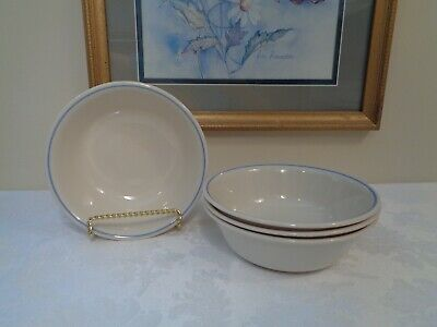 Lot of 4 Corelle NEEDLEPOINT 18 oz. Soup/Cereal Bowls *Very Good Condition*