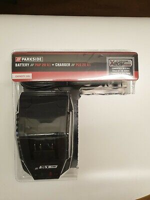 PARKSIDE 20V, 2AH Cordless Battery & Charger Compatible With X 20V Series Tools.