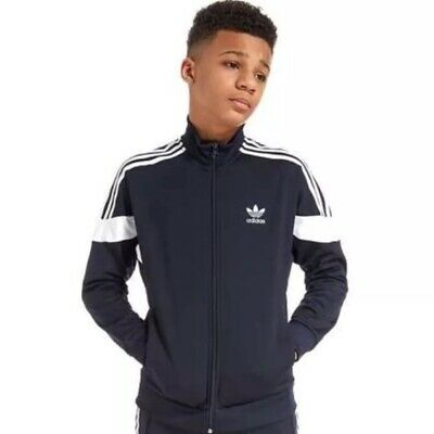Adidas Boys Track Sport Jacket S (8) New