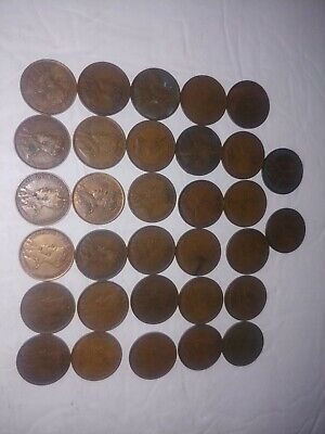 1908 1909 1910 1912 1914 1915 1916 1917 1918 1919 1920 Canadian Large Cent Penny