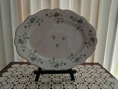 Johann Haviland Blue Garland Serving plate or platter 13 inches mint condition