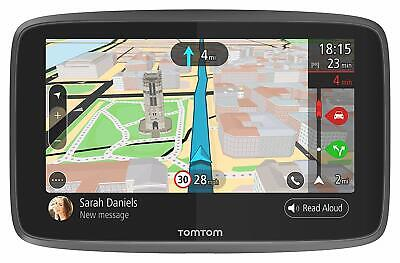 "TomTom GO Professional 6200 6"" Truck Sat Nav Full European Lifetime Maps Traffic"