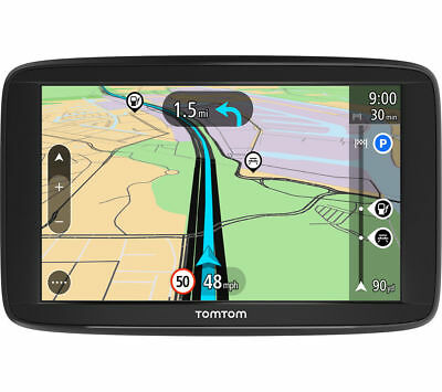 New Tomtom Start 42 4.2 Inch  Gps Sat Nav - Uk & Western  Europe Lifetime Maps