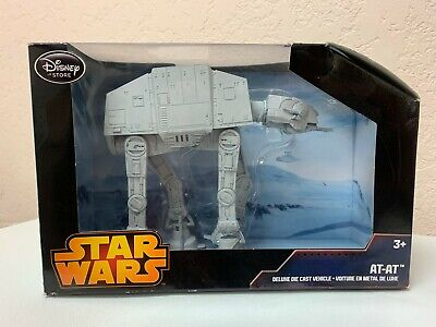 Disney Store Star Wars AT-AT Deluxe Die Cast Vehicle TESB Galactic Empire Hoth