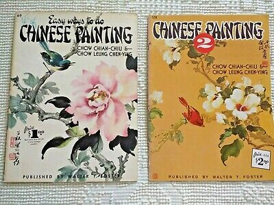 Easy Ways to do Chinese Painting & Chinese Painting 2 Chow Chian Chu & Chen-Ying