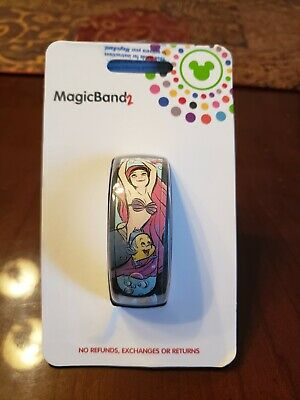 Disney Parks The Little Mermaid 30th Anniversary Limited Release MagicBand