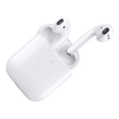 NEW Apple AirPods with Wireless Charging Case (2nd Generation)