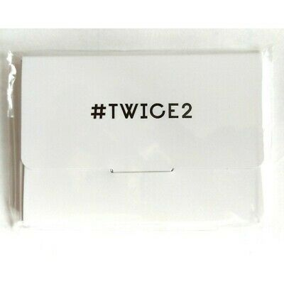 TWICE JPN 2nd Album #TWICE2 High Touch event Limited Official Photocard set NEW