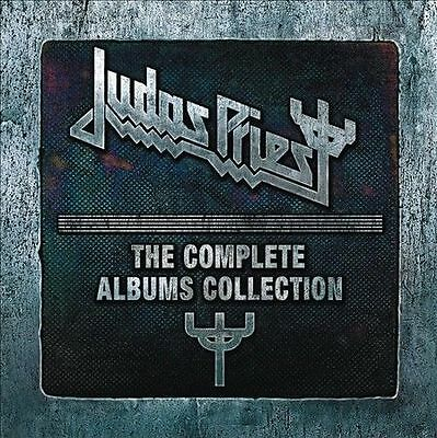 """Judas Priest """"The Complete Albums Collection"""" 19 CD Box Set Free Ship From USA"""