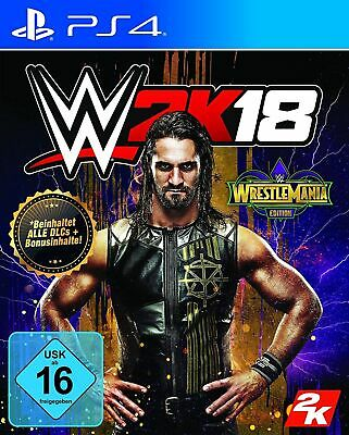 Wwe 2K18 - Wrestlemania Edition (PS4 Wrestling) (New) (Quick Dispatch)