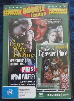 Double Feature Dvd, The Women Of Brewster Place, Oprah Winfrey & A Long Way Home