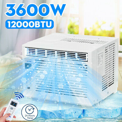 12000BTU Air Conditioner 3600W Cooling Capacity 24H Timer Dehumidification !