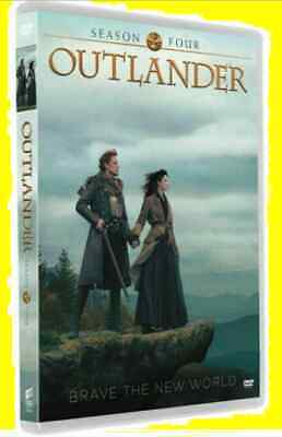 New & Sealed Outlander Season 4 (DVD, 3-Disc Set)