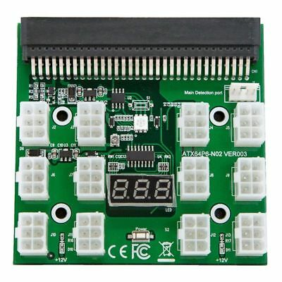 For HP 1200w/750w Breakout Board for GPU Open Rig Mining Ethereum,ZEC ZCASH W1K2