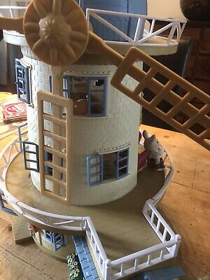 Sylvanian Families Windmill And Furniture
