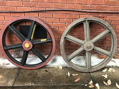 Lysaght Bros Antique Timber Wagon Wheel Molds