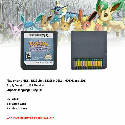 Pokemon HeartGold / SoulSilver Version Game Card For Nintendo 3DS NDSI NDS B1I5X