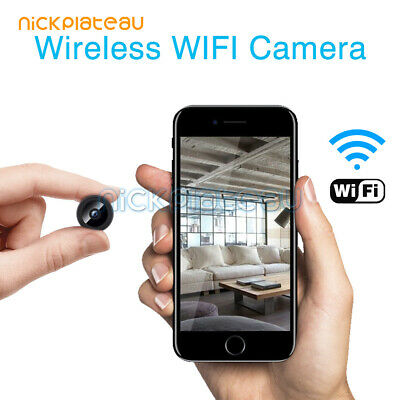 Mini IP Camera Wireless WiFi HD 1080P Hidden Network Monitor Security Nanny Cam