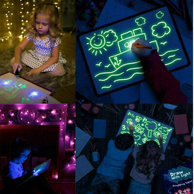 Drawing Board Magic Draw Educational Draw With Light Fun And Developing Toy