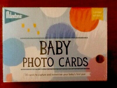 Baby 1st Year Memorable Moments Milestone Cards Take photo of baby with card