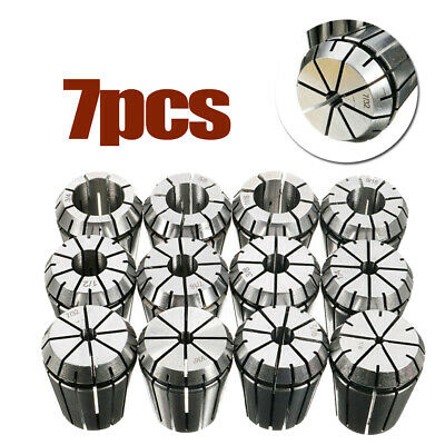 "Collet Metalworking Machine 3/8 1/2 9/16 3/4'' 3/16 1/4 5/16"" 7PCS ER32 Durable"