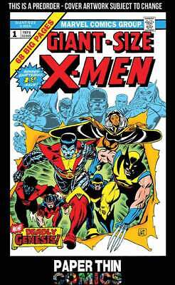 Giant Sized X-Men #1 Facsimile Edition Marvel  Pre-Order Wk 29- 17Th July 2019