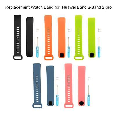 x1 Smart Wrist Watch Silicone Replacement Strap Wristband For Huawei Band 2/Pro