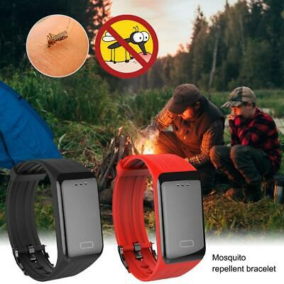 Ultrasonic Anti Mosquito Pest Insect Bug Repeller Repellent Wrist Band Bracelet