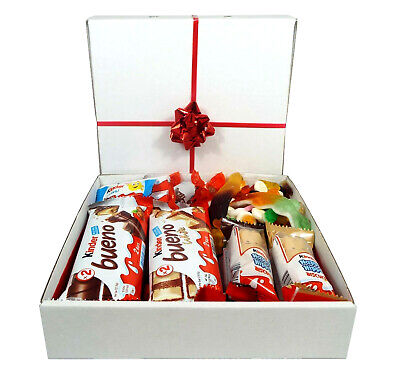 KINDER Chocolate Sweet Hamper Mix Selection Gift Box Present Mix Jelly Sweets