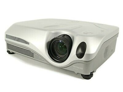 Hitachi CPX5 LCD Projector Portable HD HDMI w//Adapter Remote TeKswamp bundle